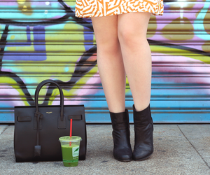 booties, green juice, and boots image