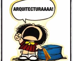 arquitectura, pollos, and mafalda image