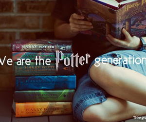 books, generation, and harry potter image