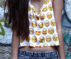emoji, shirt, and emojis image
