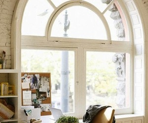 interior, home, and window image