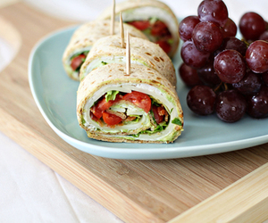 food, wrap, and healthy image