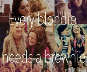 gossip girl, blonde, and friends image