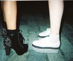 shoes, grunge, and soft grunge image