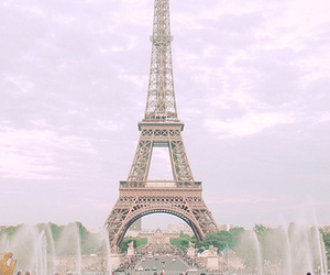city, france, and pairs image