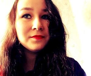 girl, rambo13, and sad but smile image