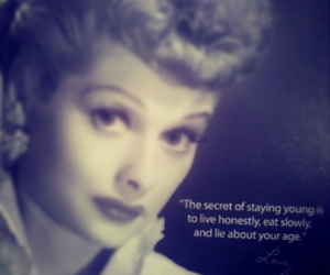 age, honestly, and I Love Lucy image