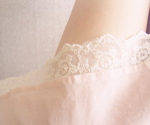 lace, pastel, and pink image