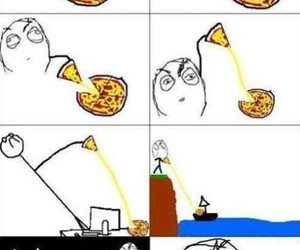 pizza, funny, and lol image