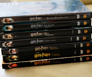 chamber of secrets, deathly hallows, and goblet of fire image