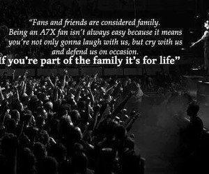 a7x, avenged sevenfold, and family image