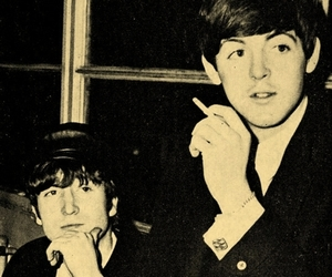 Paul McCartney, the beatles, and friends image