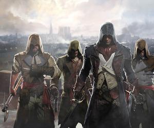 assassin's creed, assassin's creed unity, and arno dorian image