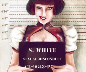 bad, rape, and snowhite image