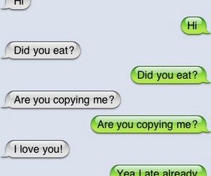 funny, love, and text image