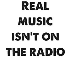 music, radio, and quote image