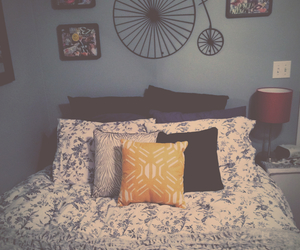 bedroom, comfy, and hipster image
