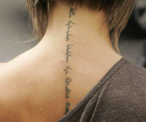 tattoo and victoria beckham image