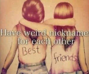 Best, nicknames, and friends image