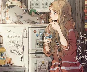 amazing, cat, and illustration image