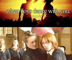 harry potter, dance, and funny image