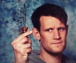 doctor who, matt smith, and screwdriver image