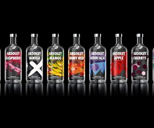 absolut, bottle, and drink image