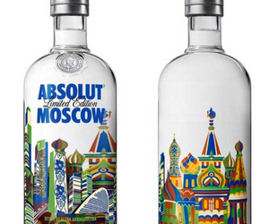absolut, drink, and moscow image