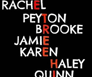 one tree hill, brooke, and haley image