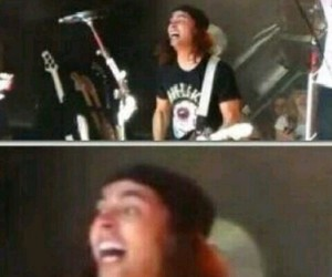 bands, funny, and pierce the veil image