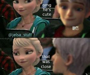 jelsa and cute image
