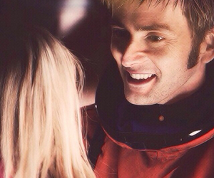 doctor who, rose tyler, and david tennant image