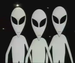 aliens, grunge, and South park image