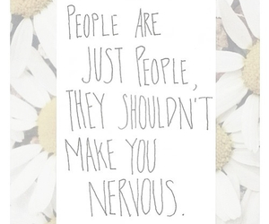 people, quote, and flowers image