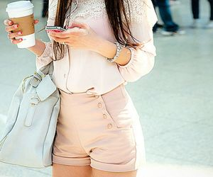 fashion, outfit, and pink image