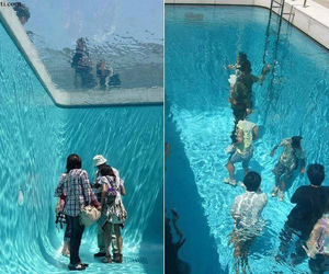 pool, cool, and water image