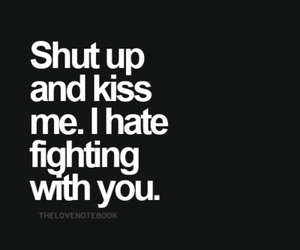 kiss, fight, and love image