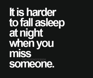 love, miss, and sleep image