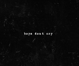 the cure and boys don't cry image