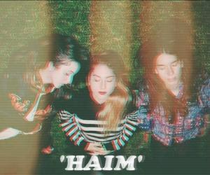 haim, band, and indie image