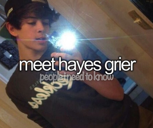 hayes grier, wanna meet him, and da bae image