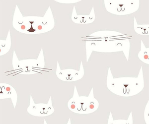 cats, wallpaper, and love image