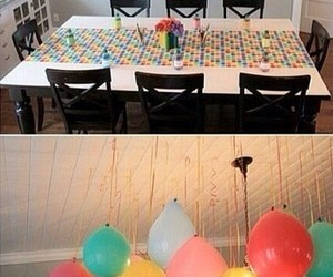 balloon, birthday, and party image