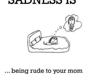 mom, sadness, and sad image