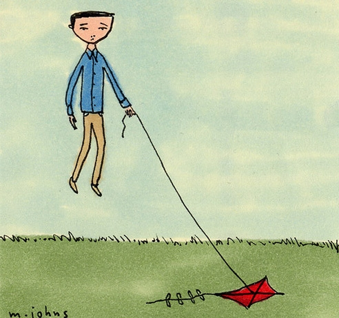 kite, drawing, and marc johns image