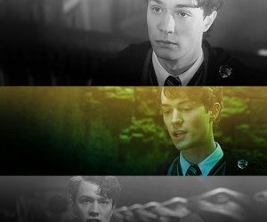harry potter, tom riddle, and lord voldemort image