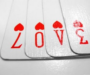 cards, love, and hearts image