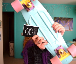 penny board, penny, and tumblr image