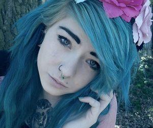 alt model, scene girl, and kitty morbide image