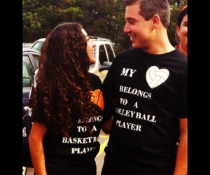 Basketball, boyfriend, and couple image